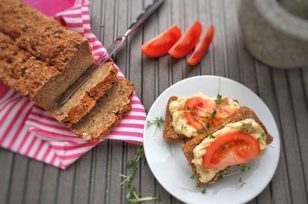 Gekeimtes Brot aus Keimstermüsli