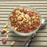 himbeer granola