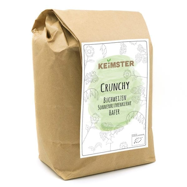 Crunchy Keimster Mischung große Packung