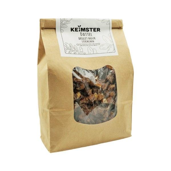 Bio Datteln mit nachhaltiger, kompostierbarer Verpackung
