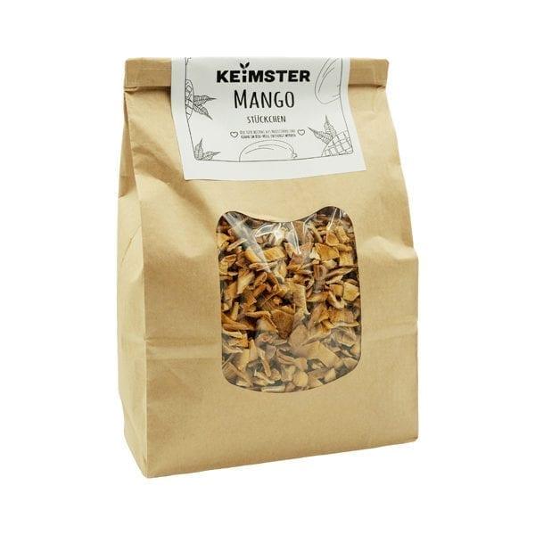 getrocknete Bio Mango Stückchen Großpackung