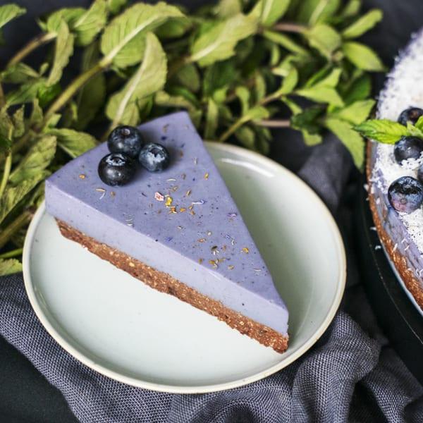 Blaubeer-Buchweizen-Kuchen