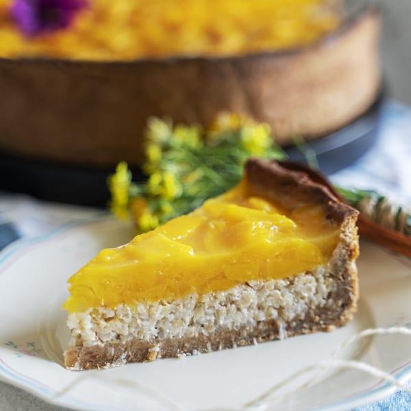 Mango-Milchreis-Torte